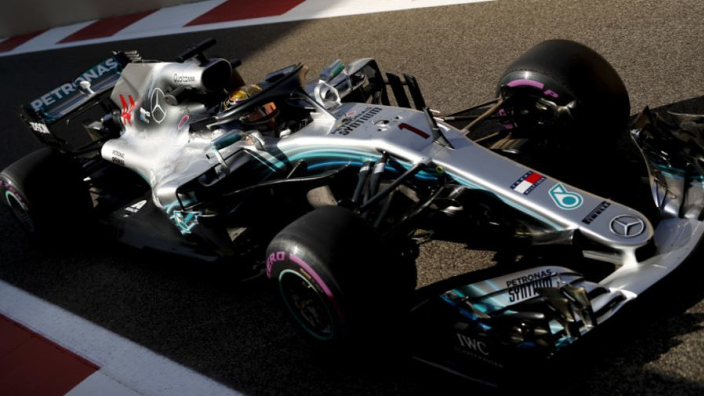 Hamilton explains decision to run #1 in Abu Dhabi