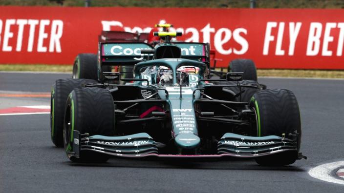 """Vettel na tweede podium voor Aston Martin: """"Ben natuurlijk een beetje teleurgesteld"""""""