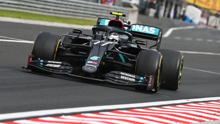 """Mercedes verklaart slechte start Bottas in Hongarije: """"Het leidde hem af"""""""