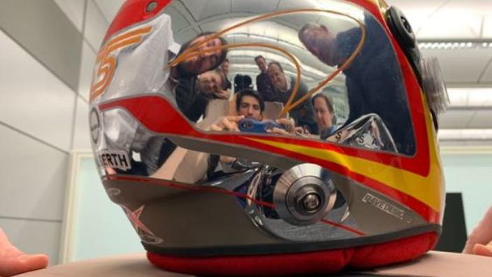 Heeft Sainz per ongeluk ontwerpgeheim McLaren onthuld?