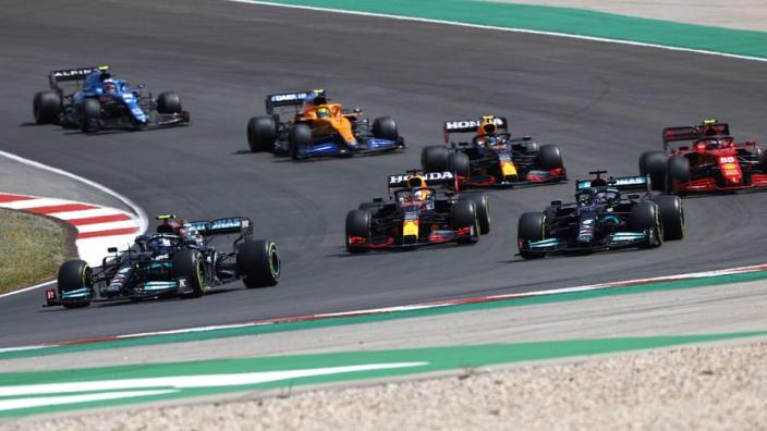 De winnaars en verliezers in Portimão: Hamilton top, Räikkönen flop