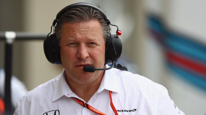 "Summertime racing for F1 ""if the world allows us"" - McLaren CEO Zak Brown"