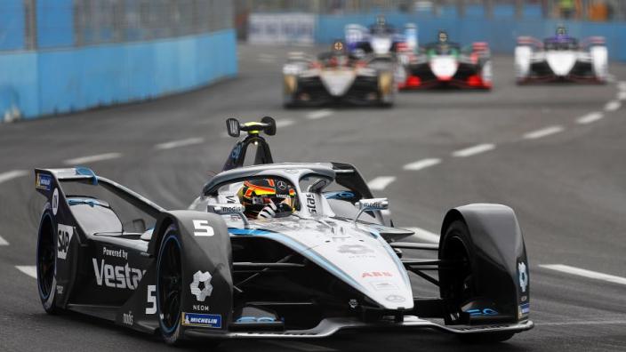 Stoffel Vandoorne rijdt naar pole position in kwalificatie E-Prix Rome