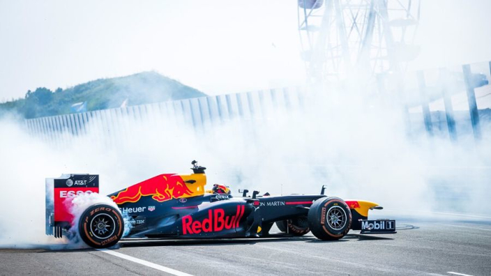 VIDEO Join Max Verstappen on a record-breaking lap of Zandvoort