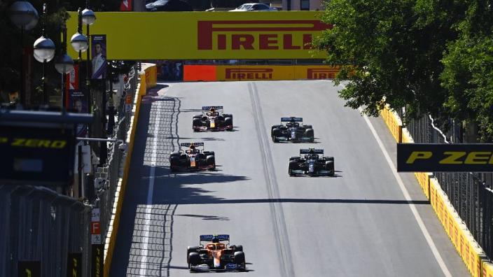 Hoeveel strafpunten hebben de coureurs na afloop van de Grand Prix van Azerbeidzjan?