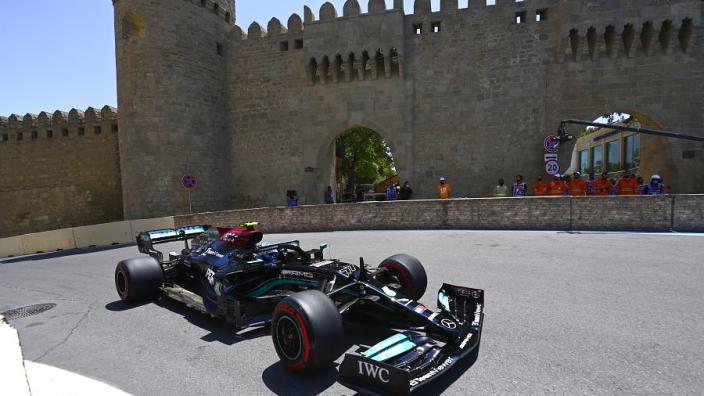 Mercedes - Bottas went against team simulations for Baku set-up