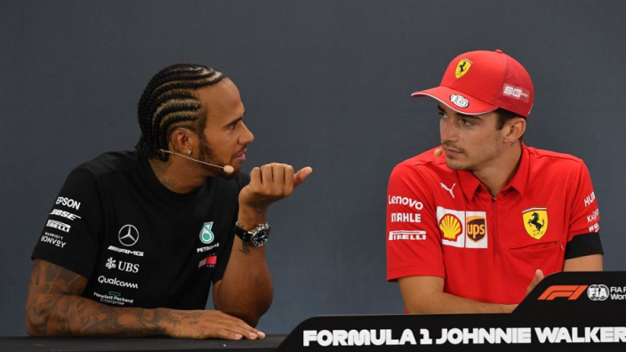 Hamilton: Lecerc is outperforming Vettel
