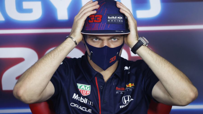 Verstappen four-letter fury after quizzed on potential Hamilton incident