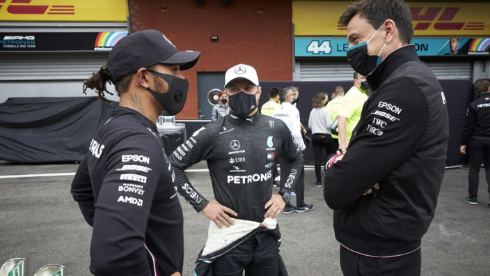 Mercedes dismissed Bottas strategy call to avoid race result interference