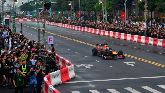 VIDEO: When Red Bull brought F1 to Vietnam