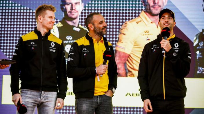 Ricciardo: 'Hülkenberg één van de beste coureurs'