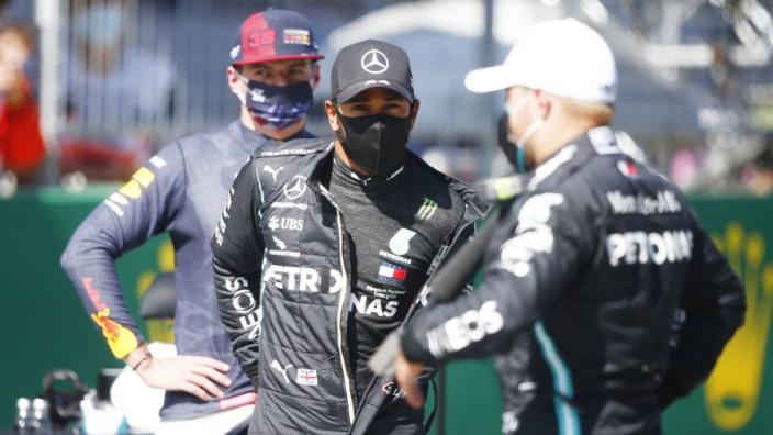 Hamilton: 'Ik ben nog altijd gefocust om te vechten voor het kampioenschap'