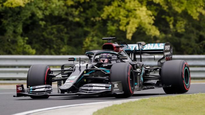 Hamilton smashes Hungaroring lap record en route to 90th career pole