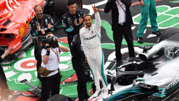 Hamilton's title secure, but Mercedes have 'unfinished business' in Brazil