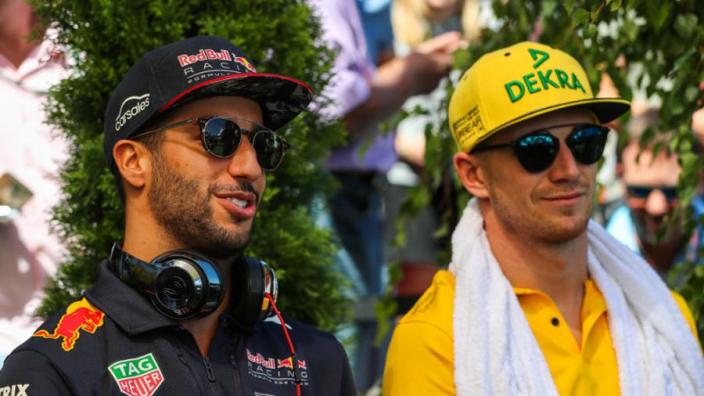 Verstappen says Ricciardo's Renault move subject of 'jokes'