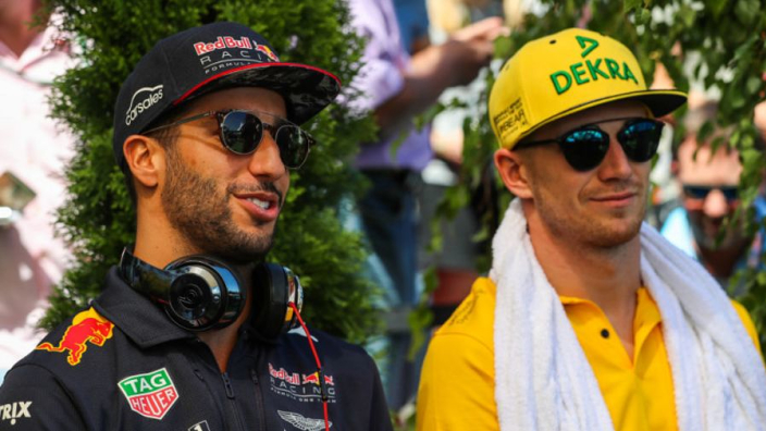 Ricciardo will force Hulkenberg to 'find another gear'