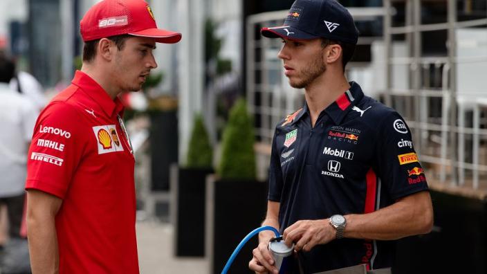 Leclerc: 'Gasly bij Ferrari zou geweldig zijn'