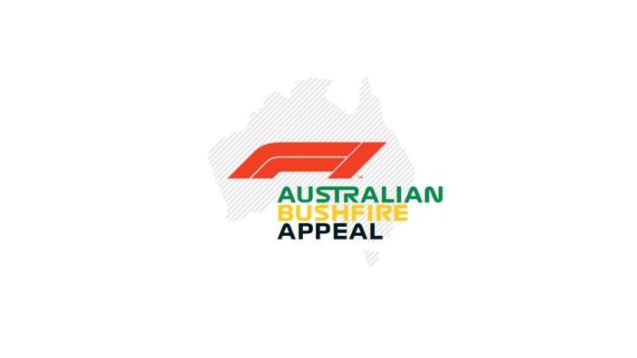 Formula One launch Australian Bushfire Appeal