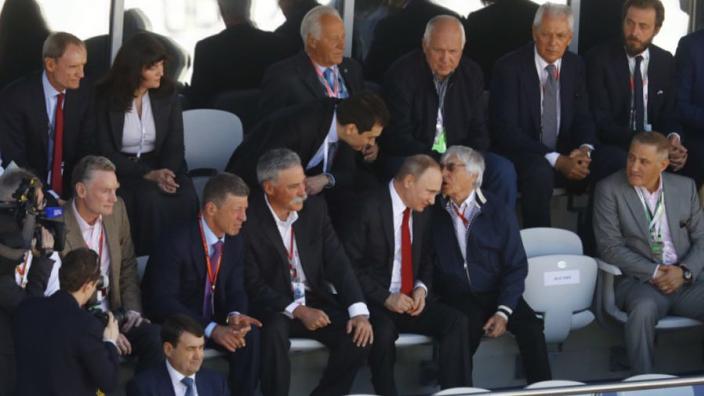 Ecclestone speelde cruciale rol in verlenging contract van Russische Grand Prix