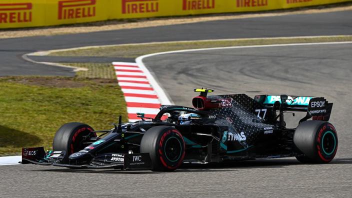 Flying Finn Bottas Crushes Hamilton In Nurburging Qualifying To Land 14th F1 Pole Gpfans Com