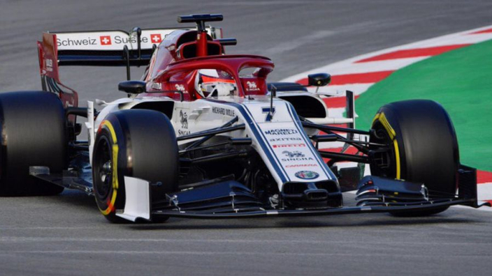 Raikkonen, Kvyat set eye-popping pace as Williams finally get going