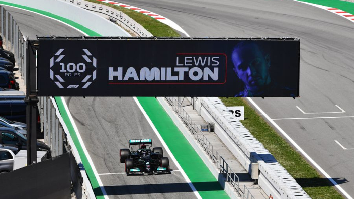 Hamilton 100 poles would produce two-hour video - Wolff
