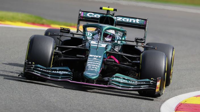 Aston Martin reveal suspected cause of Vettel's Hungary DQ
