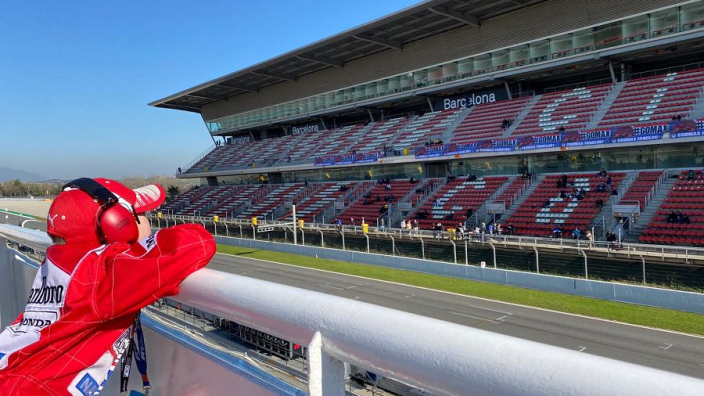 GPFans in Barcelona: Testdagen zijn voor iedereen een feestje