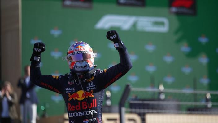 """Verstappen na Dutch Grand Prix aan het bier met prins Bernhard: """"Geen 0.0 hoor"""""""