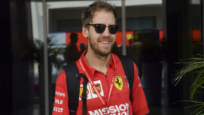 Vettel excited by 'clever' SF1000