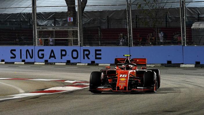 Leclerc beats Hamilton, Vettel to Singapore pole