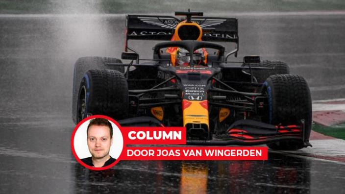 De frustratie-emmer liep even over bij Max Verstappen
