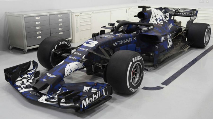F1 cars with one-off liveries?