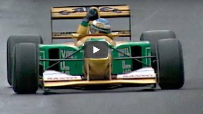VIDEO: Schumacher starts path to glory at Spa