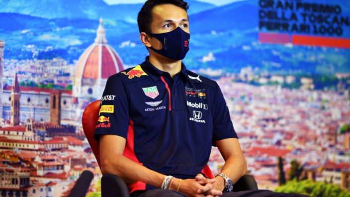 """Albon """"can finally breathe"""" after ending wait for F1 podium"""