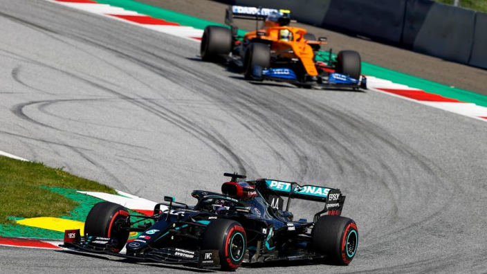 """Mercedes: We are """"kicking ourselves"""" over lost Hamilton podium"""