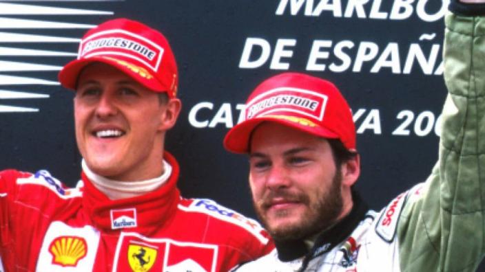 VIDEO: 'Breathtaking' Villeneuve overtake of Schumacher