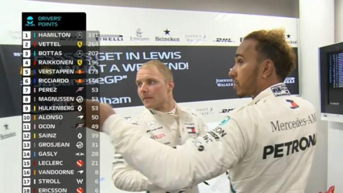 VIDEO: 'Sh*t!' - Hamilton reacts to Vettel-Verstappen crash
