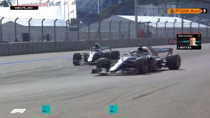 VIDEO: Bottas lets Hamilton through!
