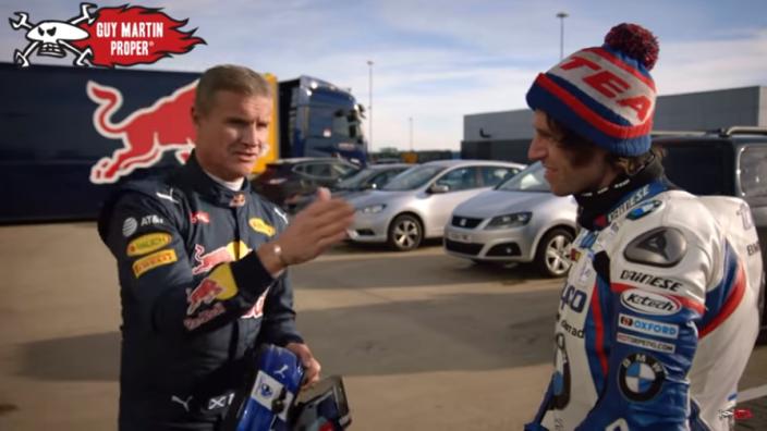 VIDEO: Red Bull v BMW bike - slalom test!