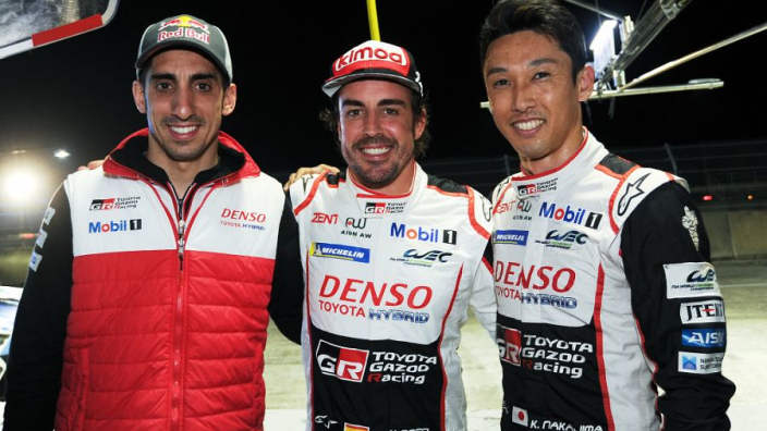 Alonso's squad takes third WEC win in Sebring