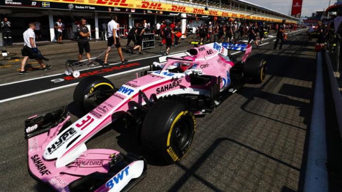 'Kleurstelling Racing Point verandert door nieuwe sponsor'