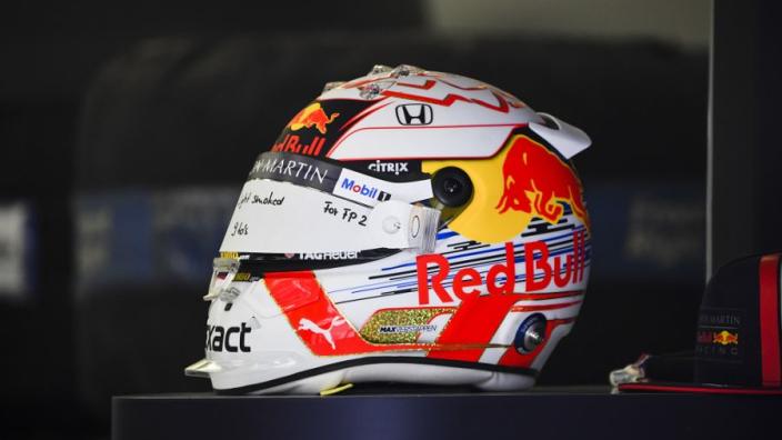 Verstappen's head too big for Red Bull's helmets