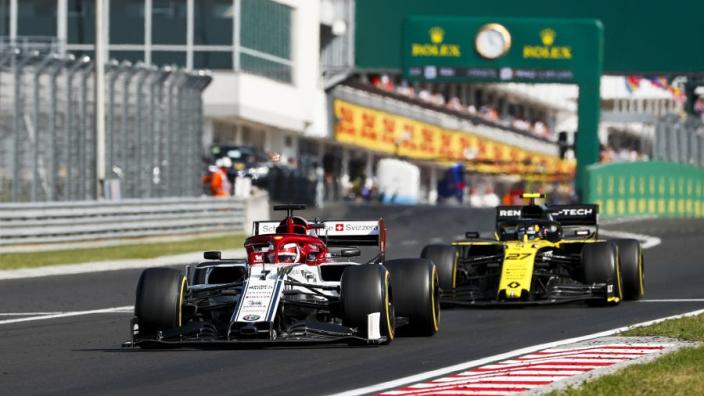 """Räikkönen na prima resultaat in Hongarije: """"Het was best goed"""""""