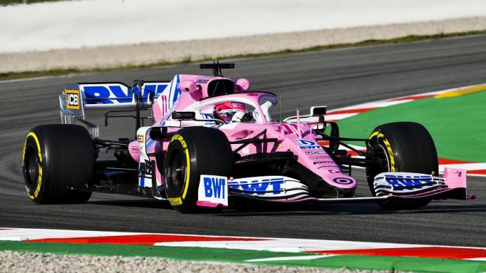 Racing Point over 'roze Mercedes': 'Onze auto is geheel zelf ontworpen'