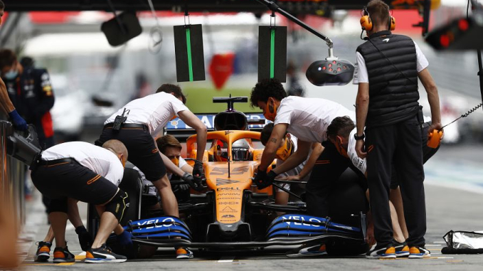 "McLaren insist latest front wing ""not a violation"" of new copying laws"