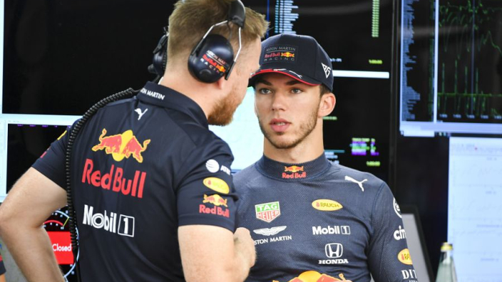 Red Bull confirm driver plans after Kvyat outshines Gasly in Germany