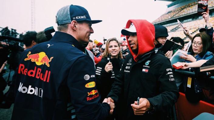 Lights Out: Hamilton breaks bread with Verstappen, Ricciardo flirts with Merc