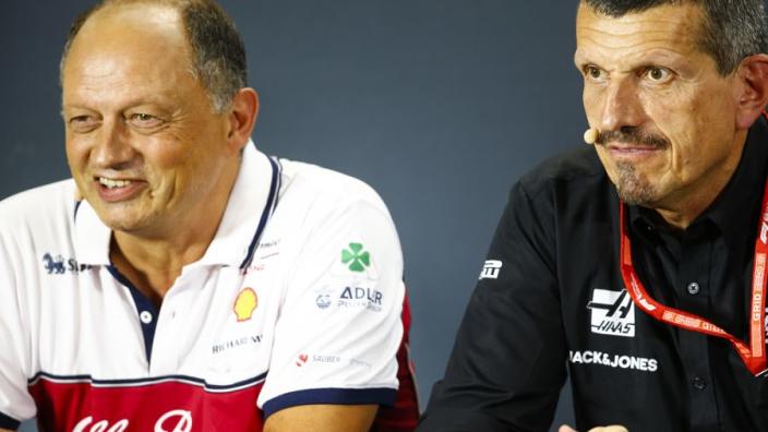 F1-teambazen prijzen de beslissing om planning om te gooien vanwege tyfoon