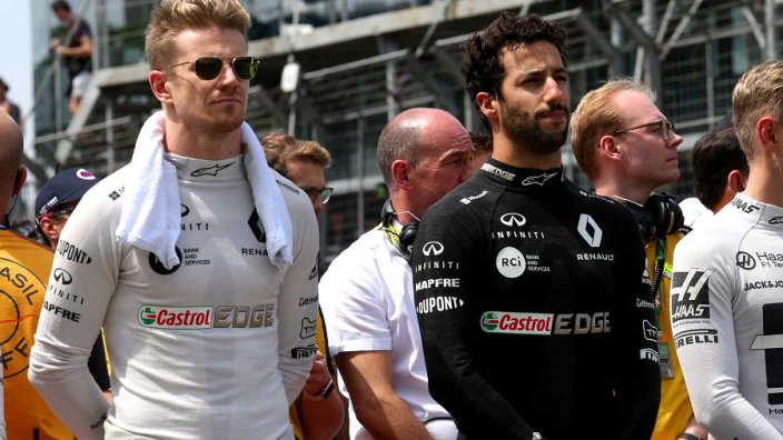 Ricciardo backs Hulkenberg to make F1 return